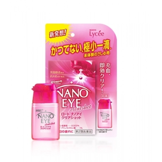 Капли для глаз Rohto Nano Eye Clearshot, 6 мл.