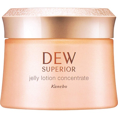 Антивозрастной желе - лосьон Kanebo Dew Superior Jelly Lotion Concentrate, 100 гр.